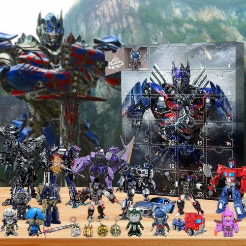 Transformers-Advent Calendar-Calendar with 24 small gifts