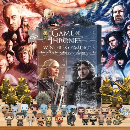 Game of Thrones-Advent Calendar-Calendar with 24 small gifts