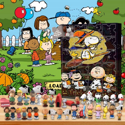 Snoopy-Advent Calendar-Calendar with 24 small gifts