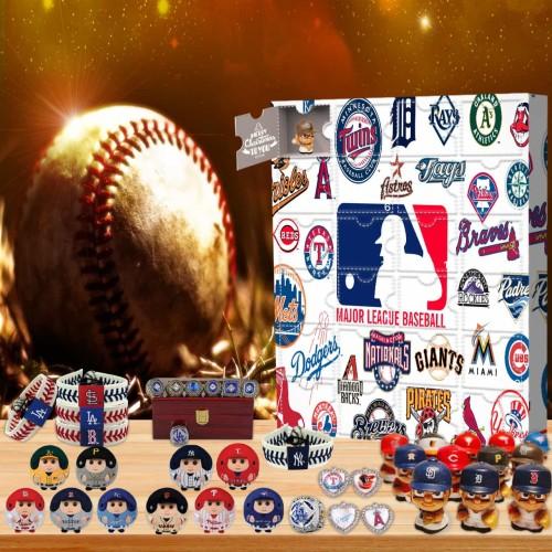 MLB-Advent Calendar-Calendar with 24 small gifts