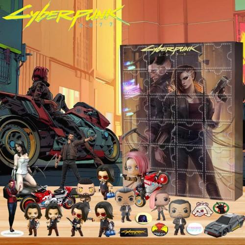 Cyberpunk 2077-Advent Calendar-Calendar with 24 small gifts
