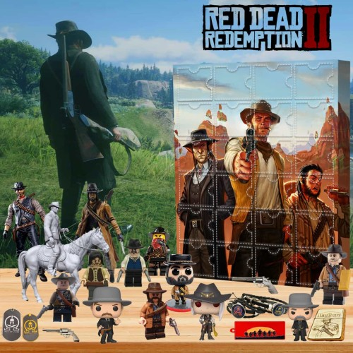 Red Dead Redemption-Advent Calendar-Calendar with 24 small gifts