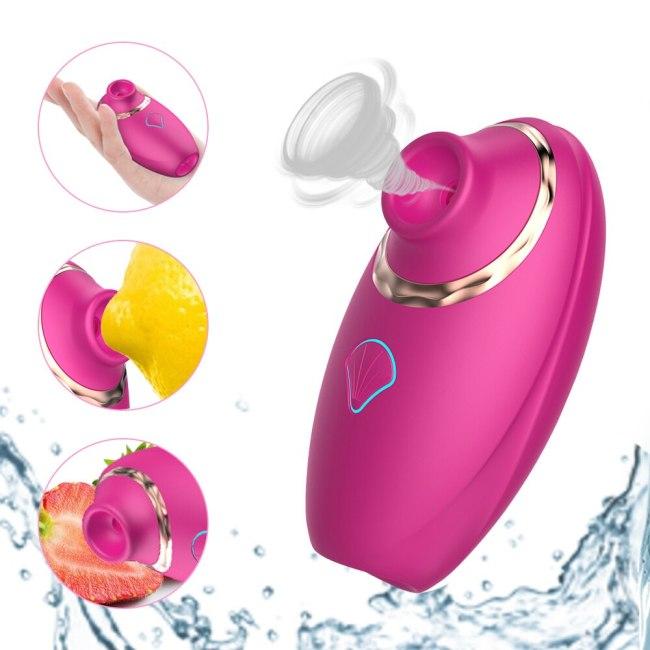 Sucking Vibrator Vagina Clitoral Stimulator Nipples Massager Tongue Oral Licking Blowjob G spot Cunnilingus Sex Toys for Women