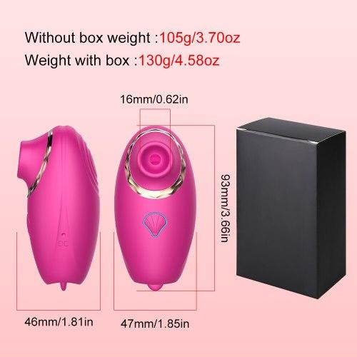 Vagina Sucking Vibrator Clitoris Stimulator Clit Sucker Blowjob Oral Nipple Sex Toys for Women Masturbator Erotic Adult Products