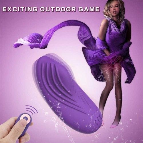 Wearable Vibrator Remote Control Jump Egg Invisible Vibrators Pants G-spot Clitoral Stimulator Female Masturbator Adult Sex Toys