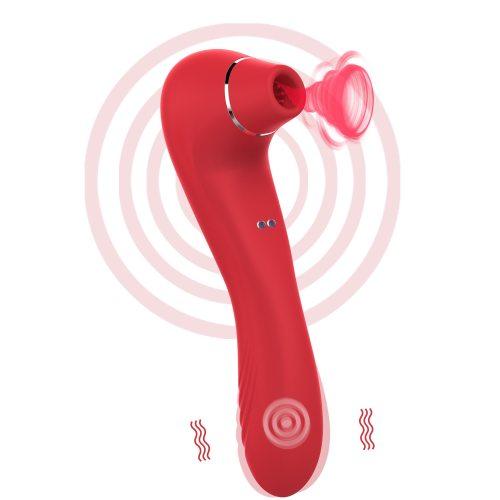 G-spot Sucker Vibrator Adult Female Sucking Clitoris Nipple Stimulator Vaginal Oral Sex Massage Female Masturbation Sex Toys