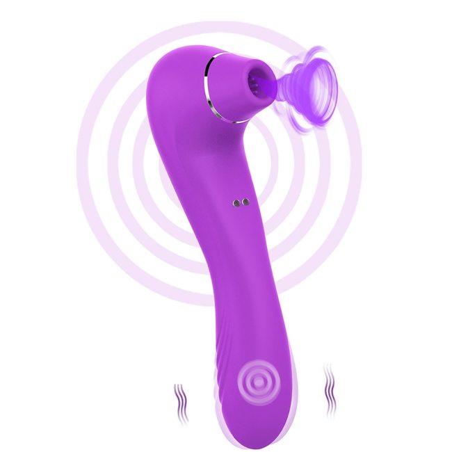 Oral Sucker Vibrators for Women Clitoris Sucking Dildo Vibrator Sex Toys for Women G Spot Massager Female Masturbator