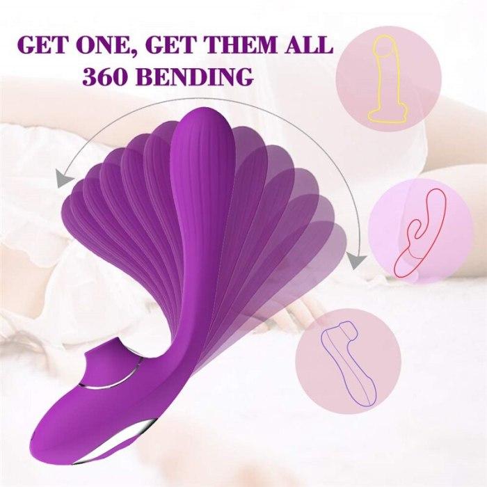 Vibrator Sex Toys for Woman Woman Clit Sucker Powerful Vibrator Clitoris Nipple Sucker Clitoris Sucke Vibrator Butterfly