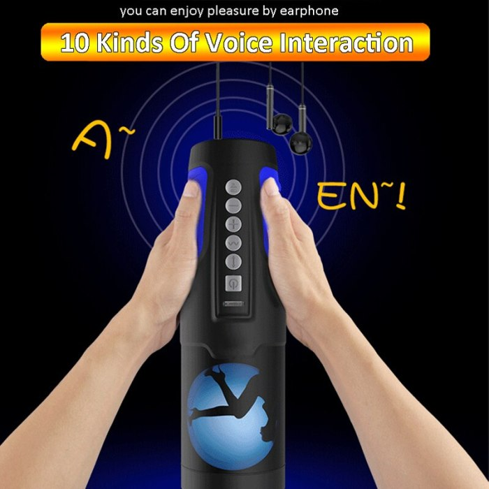 2021 Male Masturbator For Man Blowjob Vibrator Sex Mechine Thrusting Voice Interaction Realistic Vagina Pussy Sex Toys For Men