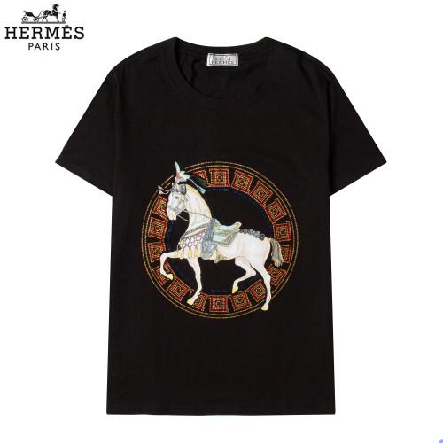 Hermes Luxury Brand Hot Sell Women And Men Summer T-Shirt Fashion New Tee