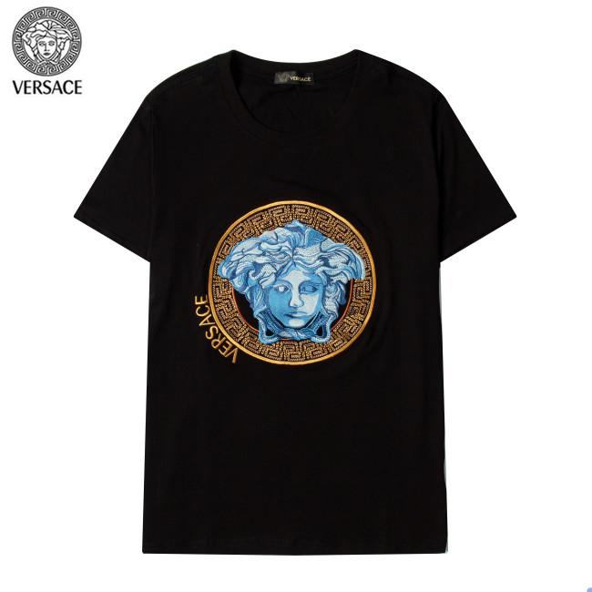 Versace Luxury Brand Hot Sell Women And Men Summer T-Shirt Fashion New Tee