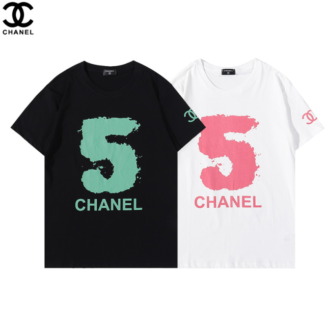 Chanel Luxury Brand Hot Sell Women And Men Summer T-Shirt Fashion New Tee