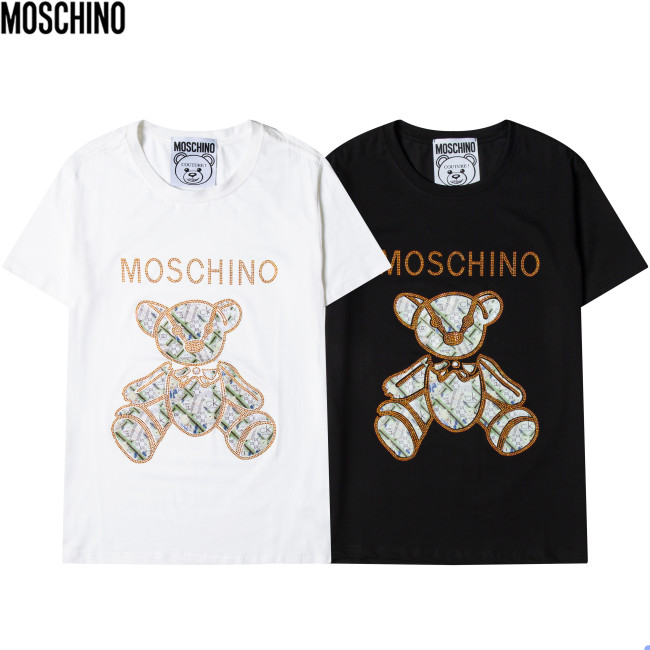 INS MOSCHION Luxury Brand Hot Sell Women And Men Summer T-Shirt Fashion New Tee