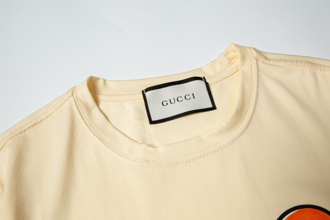 Gucci Luxury Brand Hot Sell Women And Men Summer T-Shirt Fashion New Tee