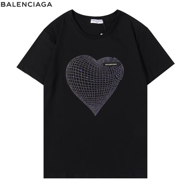 Balenciaga Luxury Brand Hot Sell Women And Men Summer T-Shirt Fashion New Tee