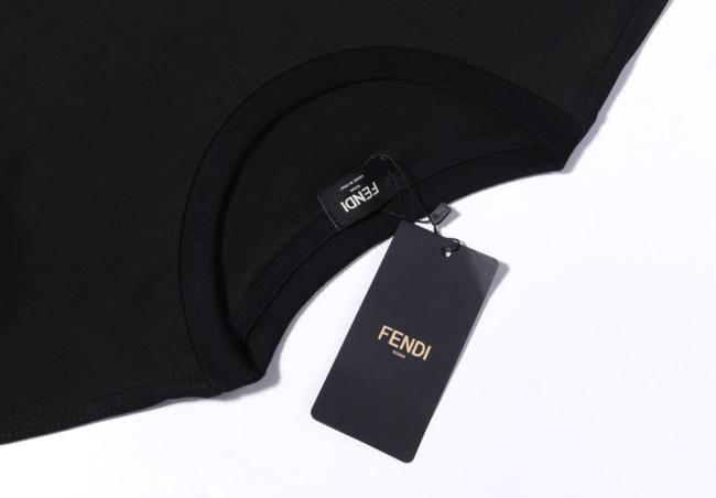 Fendi Luxury Brand Hot Sell Women And Men Summer T-Shirt Fashion New Tee
