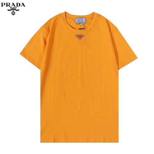 Prada Luxury Brand Hot Sell Women And Men Summer T-Shirt Fashion New Tee