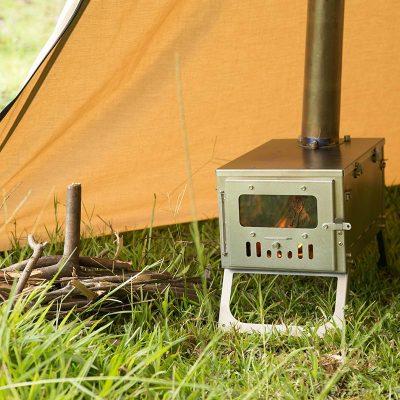 POMOLY T1 Mini チタンテントストーブ 超軽量2.1kg