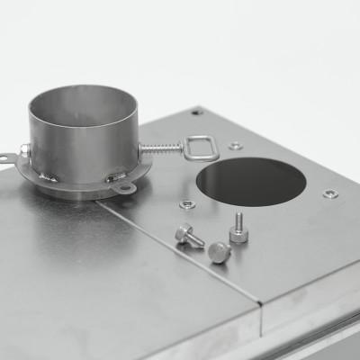 Pomoly TIMBER Lite チタンテントストーブ (単一ガラス窓版)