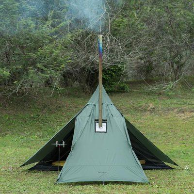 POMOLY HUSSAR 超軽量テント ストーブジャック付き