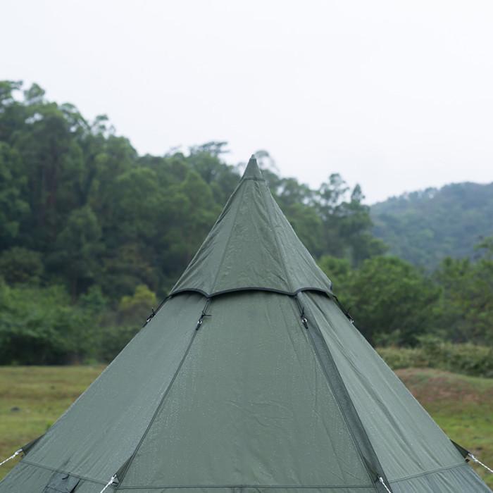 Pomoly HEX Plus ワンポールテント 2-4人用(煙突穴付き)