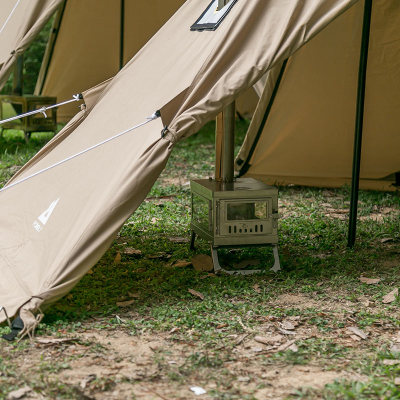 POMOLY YARN SOLO TCワンポールテント 1-2人用 コットンテント(煙突穴付き)
