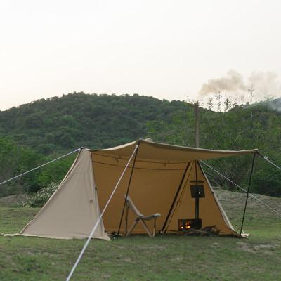 POMOLY TC コットンパップテント 1-2人用 (煙突穴付き)
