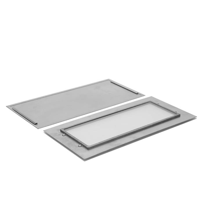 サイドパネル TIMBERチタンストーブ専用(ガラス付きまたはガラスなし)