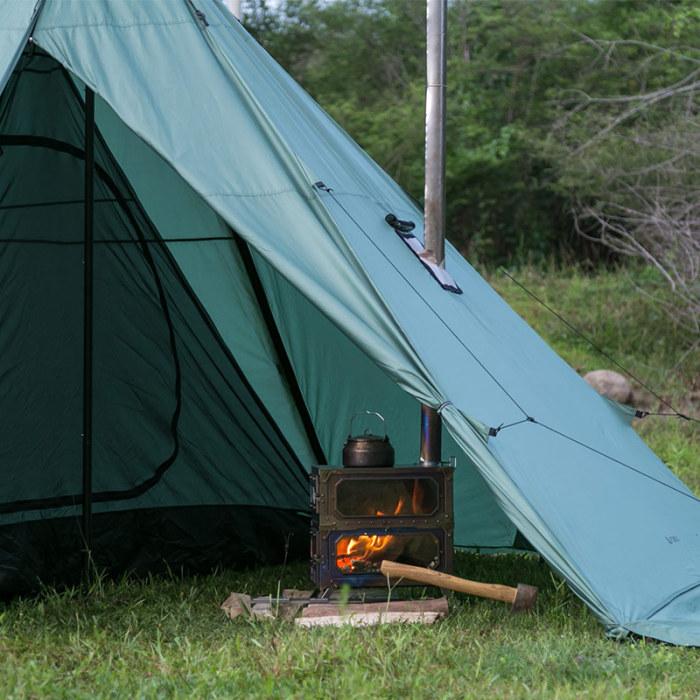 HUSSAR Plus  超軽量テント,薪ストーブ使用なら2-3人用または4-5人用  | POMOLY 2021 | 在庫有り