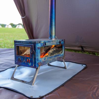 POMOLY グランドシート| 焚き火シート | テントシート| 28.7'' x 22.8'' (73 x 58 cm)