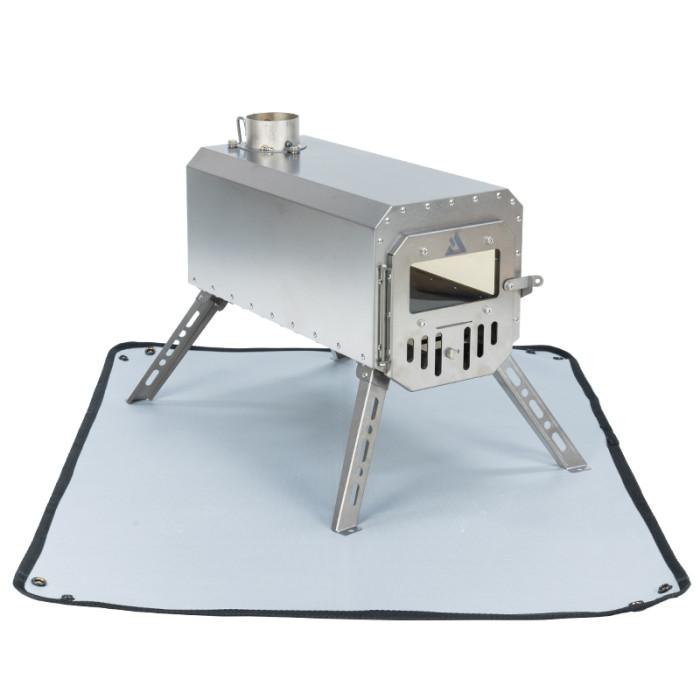 POMOLY 防火グランドシート| 焚き火シート | テントシート| 28.7'' x 22.8'' (73 x 58 cm)