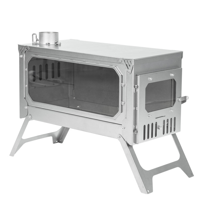 T-BRICK Ultra |ポータブル式 チタンテントストーブ | 3-6人用増強版 | POMOLY 2021 新シリーズ