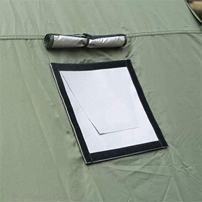 DIY 煙突テントガード 薪ストーブジャケット 防火 防水 キャンプ用 (煙突穴にガード)