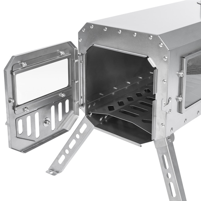 TRAVELLER | 超軽量チタンストーブ | 円筒形煙突セット | POMOLY 2021新シリーズ