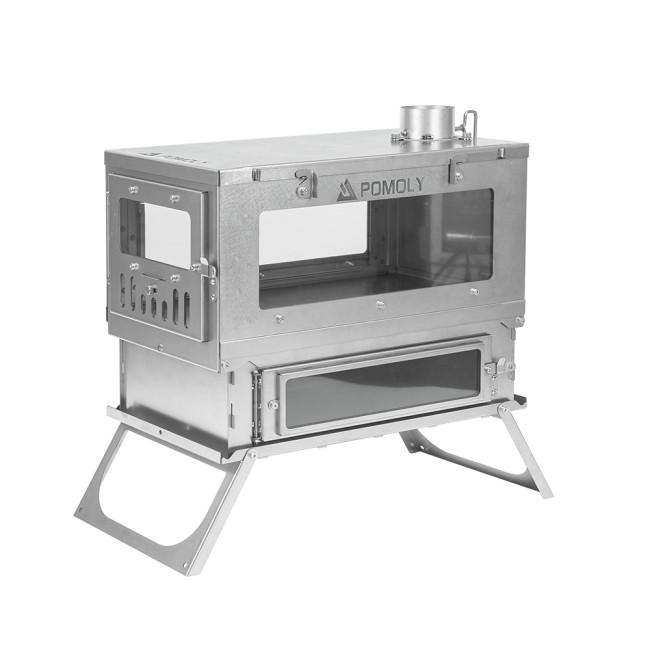 T1 TAISOCAチタン製オーブンストーブ | テントストーブオーブン | 正式バージョンはまもなく登場