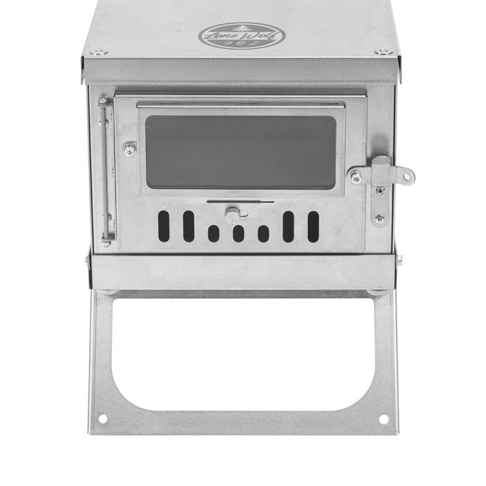 Pomoly TIMBER Mini LONEWOLF902 チタンテントストーブ (限定版)