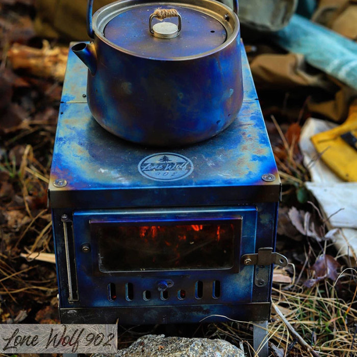 Pomoly TIMBER Mini 3 | LONEWOLF902 チタンテントストーブ