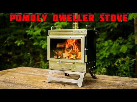 Dweller テントストーブ | ポータブル式ペチカ | POMOLY 2021新シリーズ