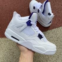 """Air Jordan 4 """"Purple Metallic"""""""