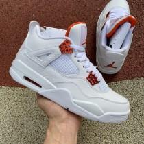 "Air Jordan 4 ""Orange Metallic"""