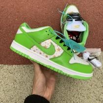 """Supreme x Nike SB Dunk Low """"Mean Green"""""""