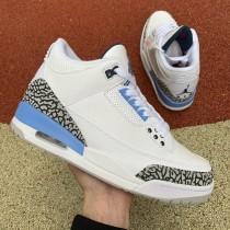 """Air Jordan 3 """"UNC"""" 2020"""