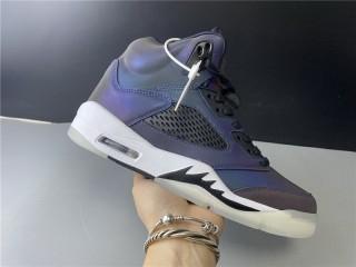 "Air Jordan 5 WMNS ""Oil Grey"""
