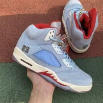 "Trophy Room x Air Jordan 5 ""Ice Blue"""