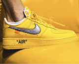 Off-White x Nike Air Force 1 Low University Gold