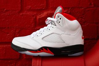 "Air Jordan 5 ""Fire Red"""