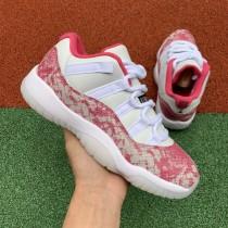 "Air Jordan 11 Low ""Pink Snakeskin"""