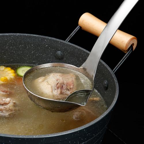 家用廚房油湯分離勺
