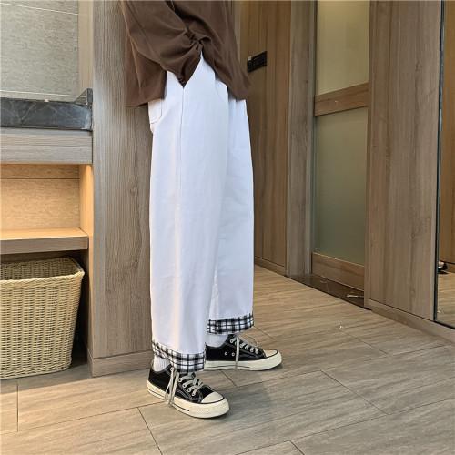 完美駕馭-時尚帥氣! 夏季新款寬鬆休閒 直筒闊腿褲【日本原廠價!品質保證】