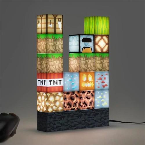 【官方授權的紀念品】我的世界積木夜燈  創新安全——磁芯導電塊積木!